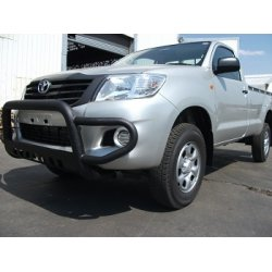 Hilux low bumper wrap around, powder coated