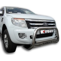 Ford Ranger T6 Stainless steel low nudge