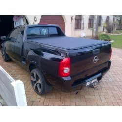 Opel corsa utility under car towbar