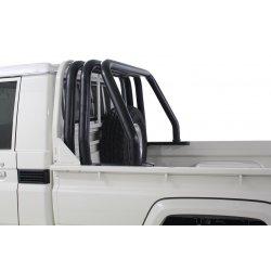 Toyota Landcruiser Black Stainless Triple Styling Bar