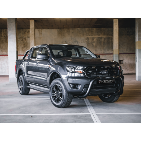 Ford Ranger / Everest Black Sports nudge bar