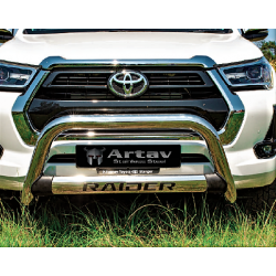 Toyota hilux 2016+ nudge bar stainless steel