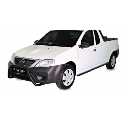 Nissan NP200 2010+Nudge Bar Black Stainless steel
