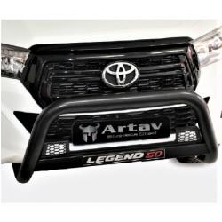 Toyota Hilux Revo & Facelift 2016+ Nudge Bar
