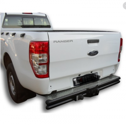 Ford Ranger single cab rear step towbar with plug and play harness