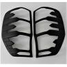 Ford Ranger Taillight Cover Fitt Design Black 2012-2020
