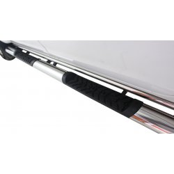 """New Isuzu KB 4"""" Oval Side Steps Extended Cab Stainless Steel"""