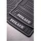 TOYOTA HILUX RUBBER MATS D/C '16-'21