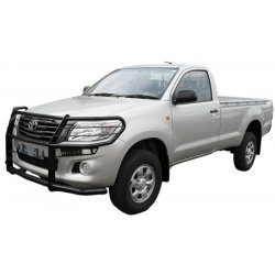 Hilux full wrap around bull bar black