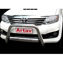 Toyota Fortuner Nudge bar with oval cross member