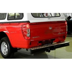Towbar steed 5 double tube step