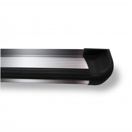 Aluminium running boards polished D/C
