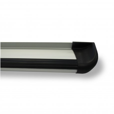 Aluminium running boards natural D/C