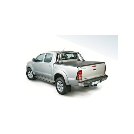 Tonneau cover double cab roll bar