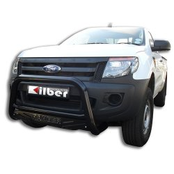 Ford ranger T6 Low Black nudge bar
