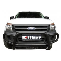 Ford ranger T6 Low bumper wrap around black