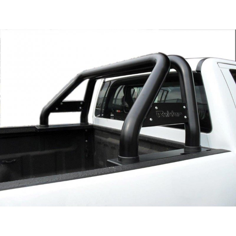 Ford Ranger T6 Black Powder Coated Roll Bar, Fits Single