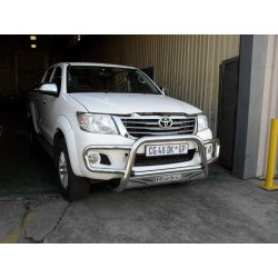 Hilux nudge bar low bumper wrap around with sump gaurd