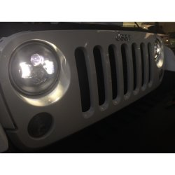 "Jeep wrangler 7"" led head light"