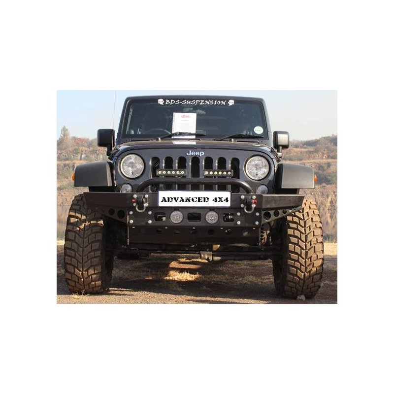 Jeep wrangler front bumper replacement JK