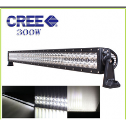 100 Led Light Bar Double Row 300w 51""