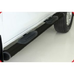 Ford Ranger T6 mild steel double cab side steps
