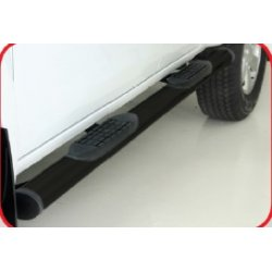 Vw Amarok mild steel double cab oval side steps