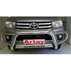 Toyota Hilux 2016 Stainless steel tri nudge