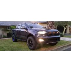 Ford Ranger 2016 face lift grill with top led