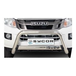 ISUZU KB RT85 Nudge Bar Stainless Steel