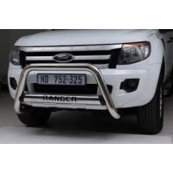 Ford Ranger T6Nudge bar and oval cross member
