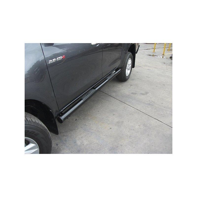 2009 Toyota Tacoma Double Cab Suspension: Toyota Hilux Revo 640A Double Cab 2016+ Black Powder Coated