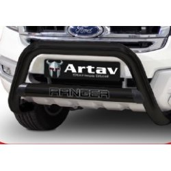 Ford Ranger T6 2016+ Facelift Double Cab - 3 Piece Combo Black Stainless Steel