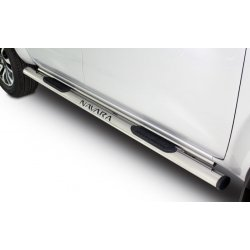 Nissan Navara Double Cab 2017 + Double Tube Steps