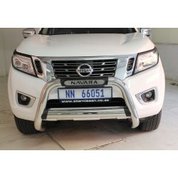 Nissan Navara D23 2017+ Stainless Steel Nudge bar