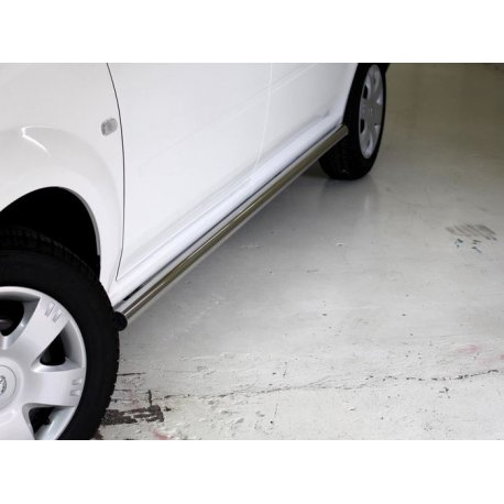 Nissan NP200 2010+Side Bars Stainless Steel
