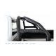 Ford Ranger T6 Facelift 2016+ black stainless steel roll bar