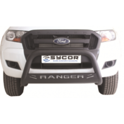 Ranger Fle Range Nudge Bar Black Stainless Steel