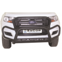 Ranger Fleet Tri Bumper Black Stainless Steel