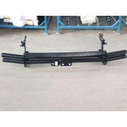 Towbar double tube step