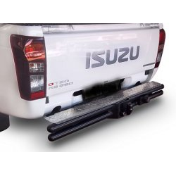 Isuzu 2013 double tube step tow bar
