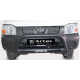 Nissan NP300 2012+ Nudge Bar - Black Stainless Steel