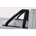 Nissan NP300 2012+ S/C Roll Bar - Black Stainless Steel