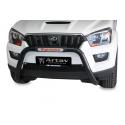 Mahindra Scorpio 2015+ (Fits S11. SUV, Pick Up Double & Single Cab) Nudge Bar